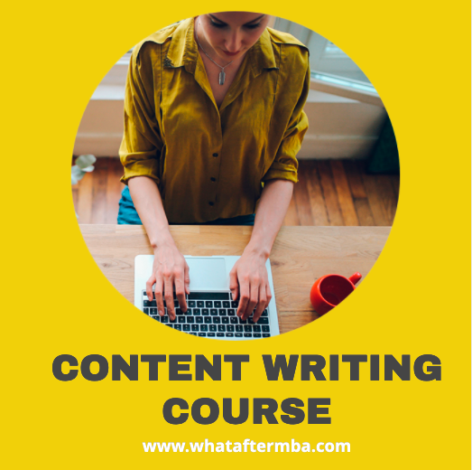 Content Writing Course Online
